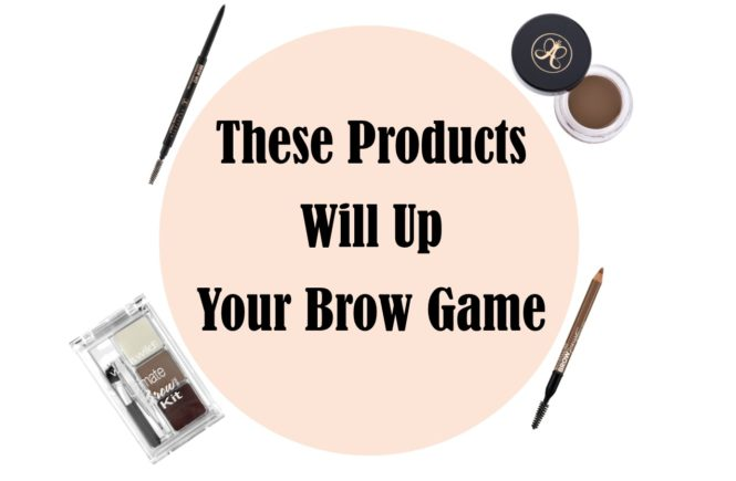 These Products Will Up Your Brow Game