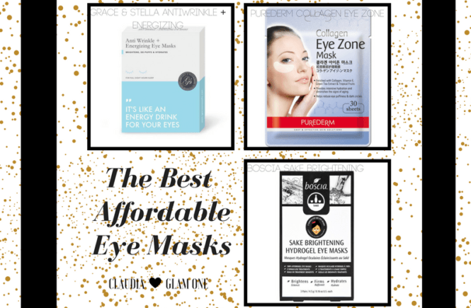 Affordable Under Eye Masks for Bags, Puffiness & Under Eye Circles