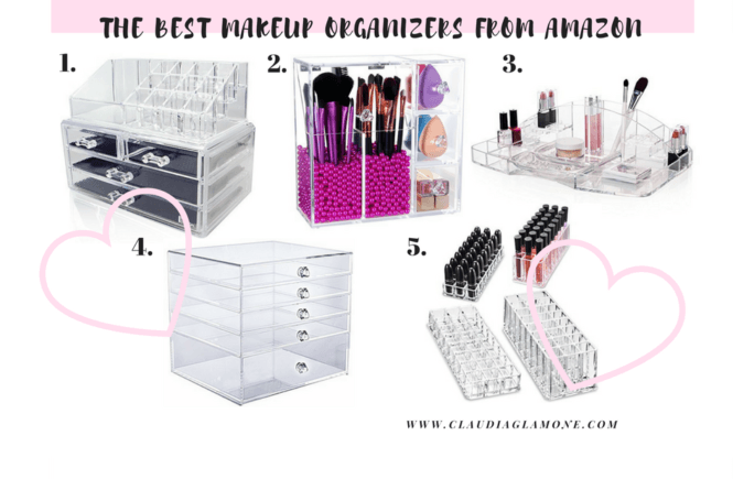 The Best Makeup Organizers from Amazon