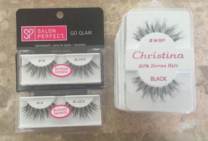 Christina 100% Human Hair eyelashes