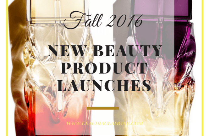 New beauty product launches