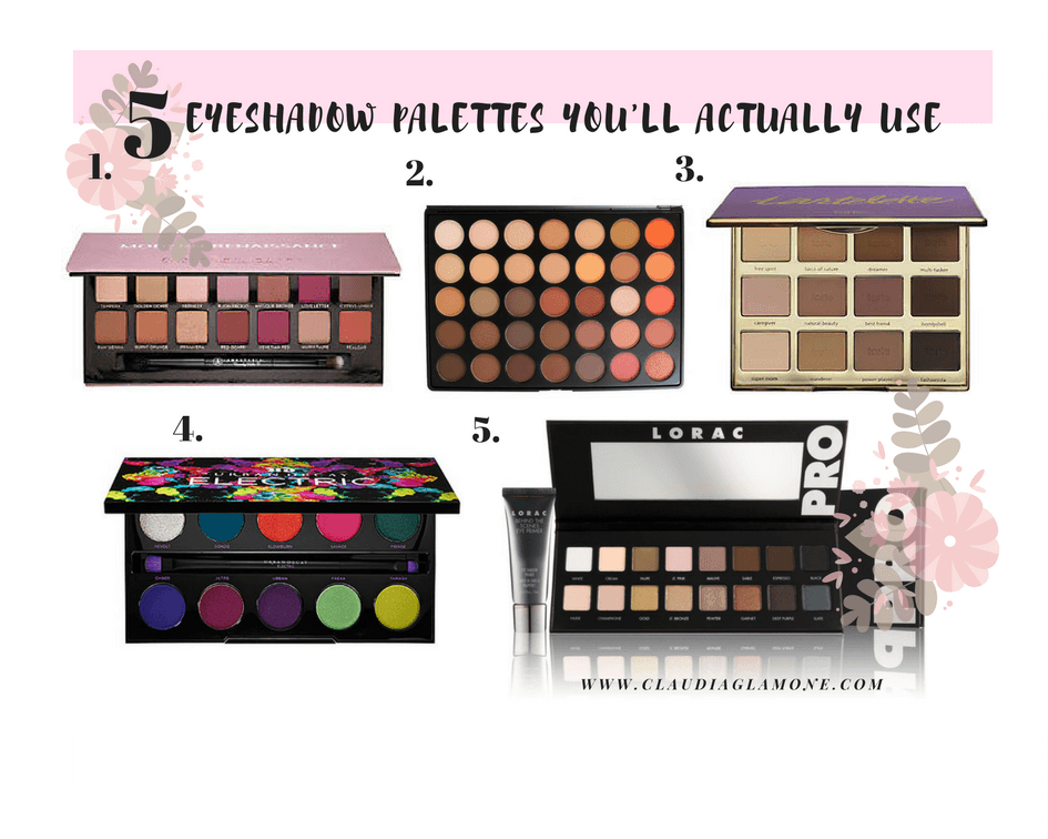 Best Eyeshadow Palettes 5 Popular Palettes That You Ll