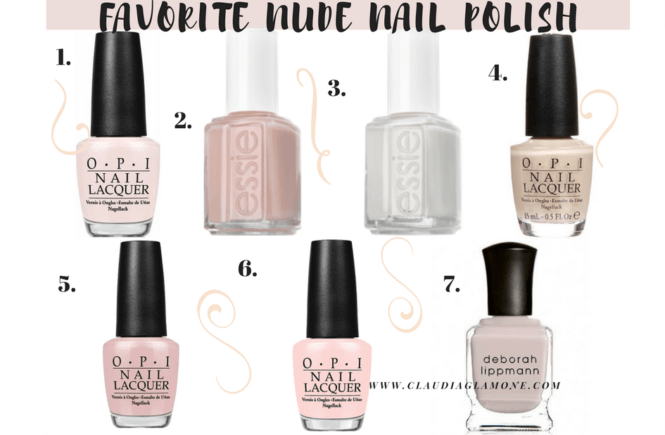 Favorite Nude Nail Polish-2