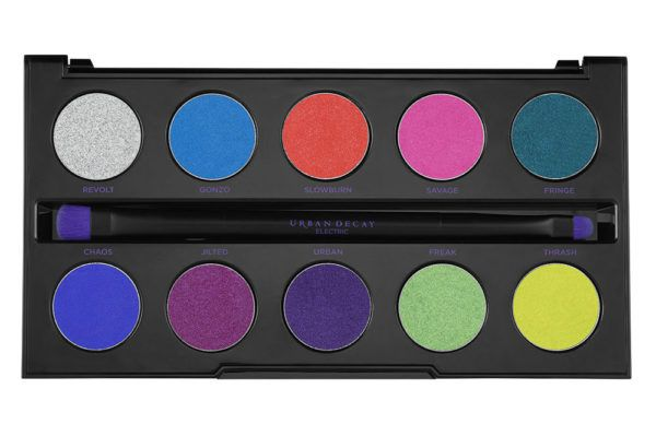 urban decay electric pressed pigment palette Claudiaglamone