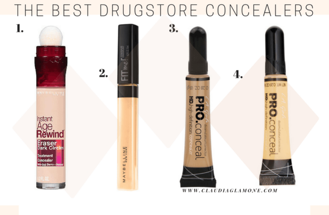 The best drugstore concealerz