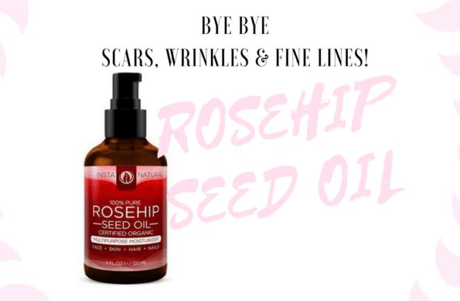 Rosehip Oil - Bye Bye Scars, Wrinkles & Fine Lines