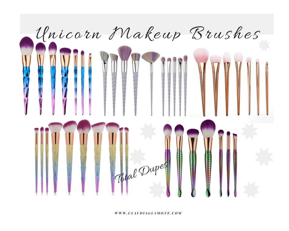 unicorn makeup brushes uses. i have been eyeing unicorn makeup brushes for a while now, but as cute they look wasn\u0027t ready to shed out $30 plus on little brushes. uses r