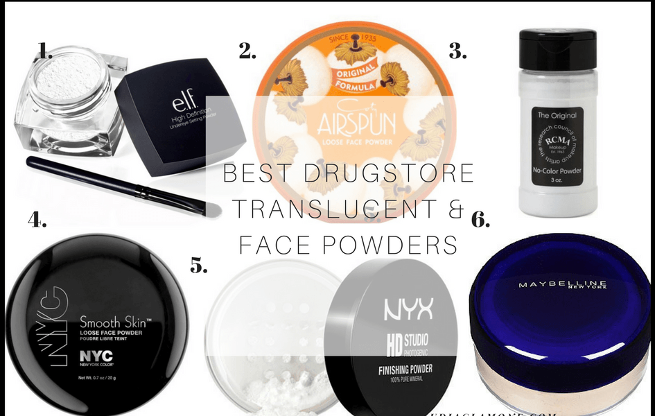 Best Drugstore Translucent Powder for Baking & Setting your Face
