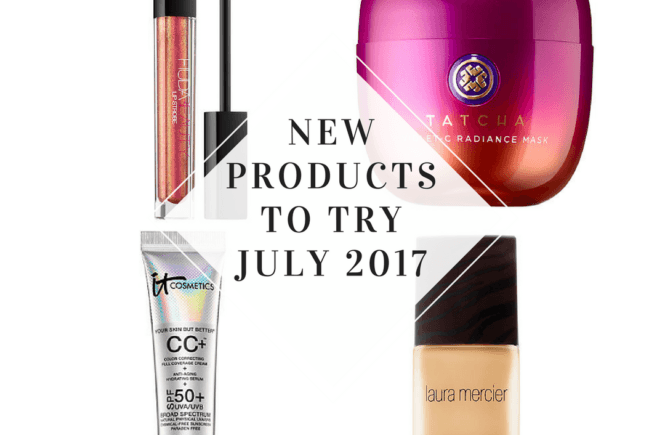New beauty products July 2017