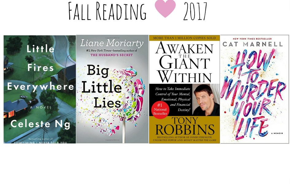 Fall reading list 2017 Books Autumn