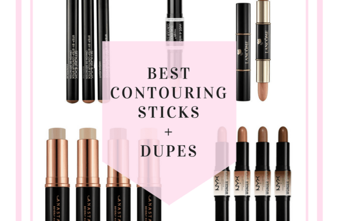 KKW Beauty Contouring Sticks Dupes