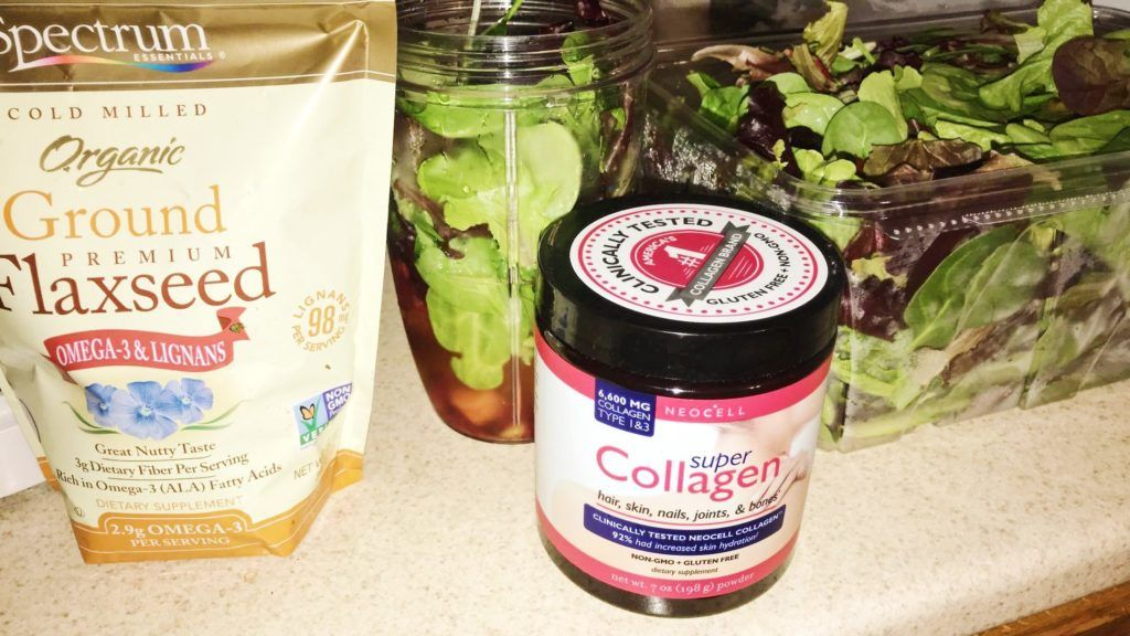 collagen boosted smoothie