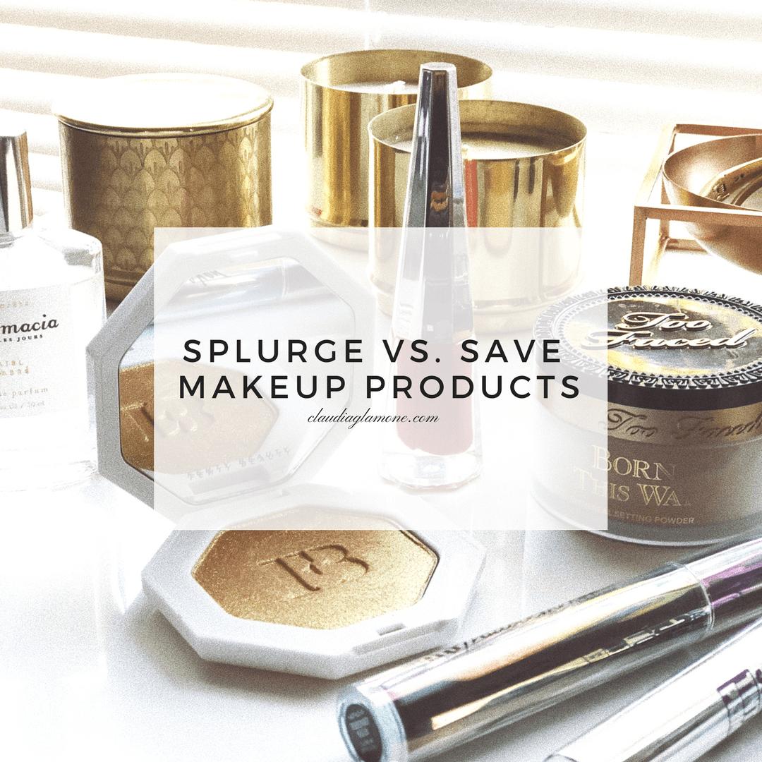 Splurge vs Save Makeup products dupes worth it